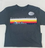 BLUE QUILL ANGLER BQA LOGO SS SUEDED TEE
