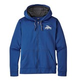PATAGONIA PATAGONIA FLYING FISH POLYCYCLE FULL-ZIP HOODY