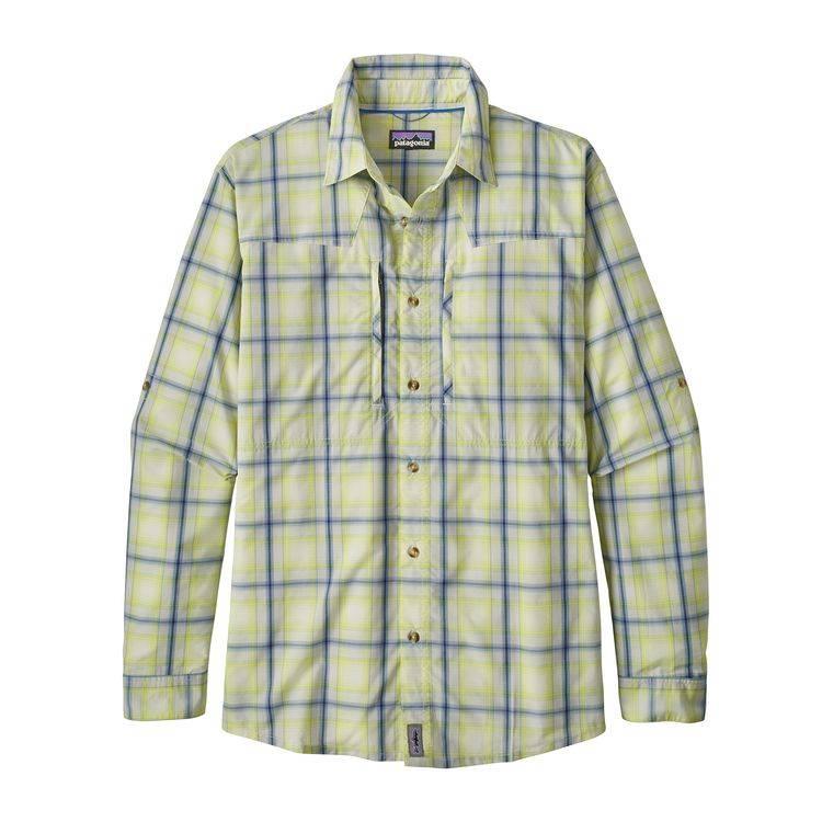 PATAGONIA Patagonia Mens Sun Stretch Shirt L/S - Small - Birch White