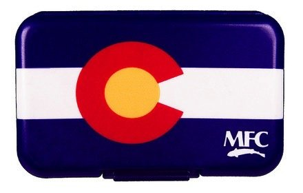 MONTANA FLY Mfc Poly Fly Box - Colorado Flag