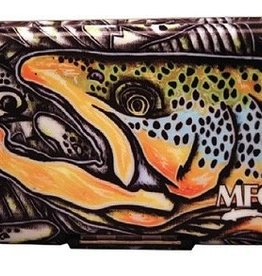 MONTANA FLY MFC POLY FLY BOX - ESTRADA BROWN TROUT