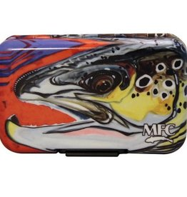 MONTANA FLY MFC POLY FLY BOX - BORSKI CHORUS LINE BROWN