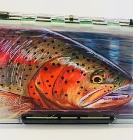 MONTANA FLY Mfc Waterproof Fly Box - Medium - Hallock Rainbow