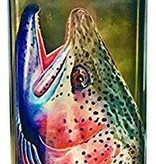 MONTANA FLY MFC STAINLESS STEEL HIP FLASK - SUNDELL WINTER RAINBOW