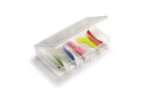 UMPQUA MYRAN 7000 - 5 COMPARTMENT - CLEAR FLY BOX