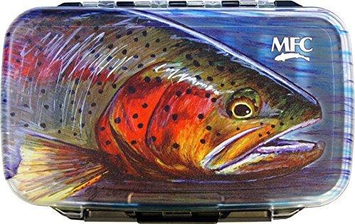 MONTANA FLY Mfc Waterproof Fly Box - Medium - Hallock Cutty