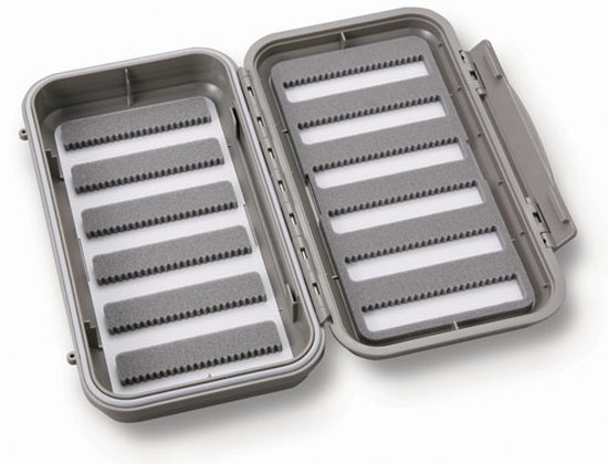 C&F DESIGNS LARGE WATERPROOF 12 ROW FLY BOX - CF-3566