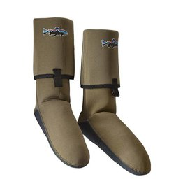 PATAGONIA Patagonia Neoprene Socks With Gravel Guard - Light Bog - On Sale!