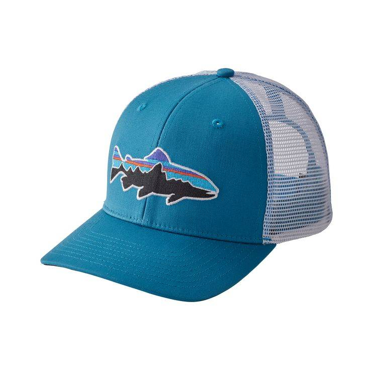 PATAGONIA PATAGONIA FITZ ROY TROUT TRUCKER HAT - ON SALE!
