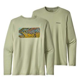 PATAGONIA PATAGONIA GRAPHIC TECH FISH TEE - KILLER DEAL