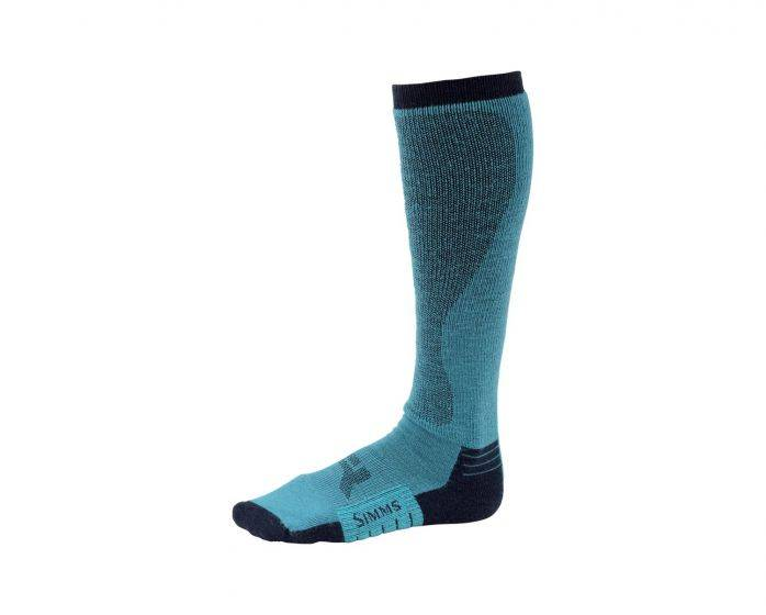 SIMMS Simms Womens Guide Midweight Otc Sock - Lagoon - ON SALE!!