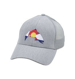 SIMMS SIMMS COLORADO PATCH TRUCKER - HEATHER GREY