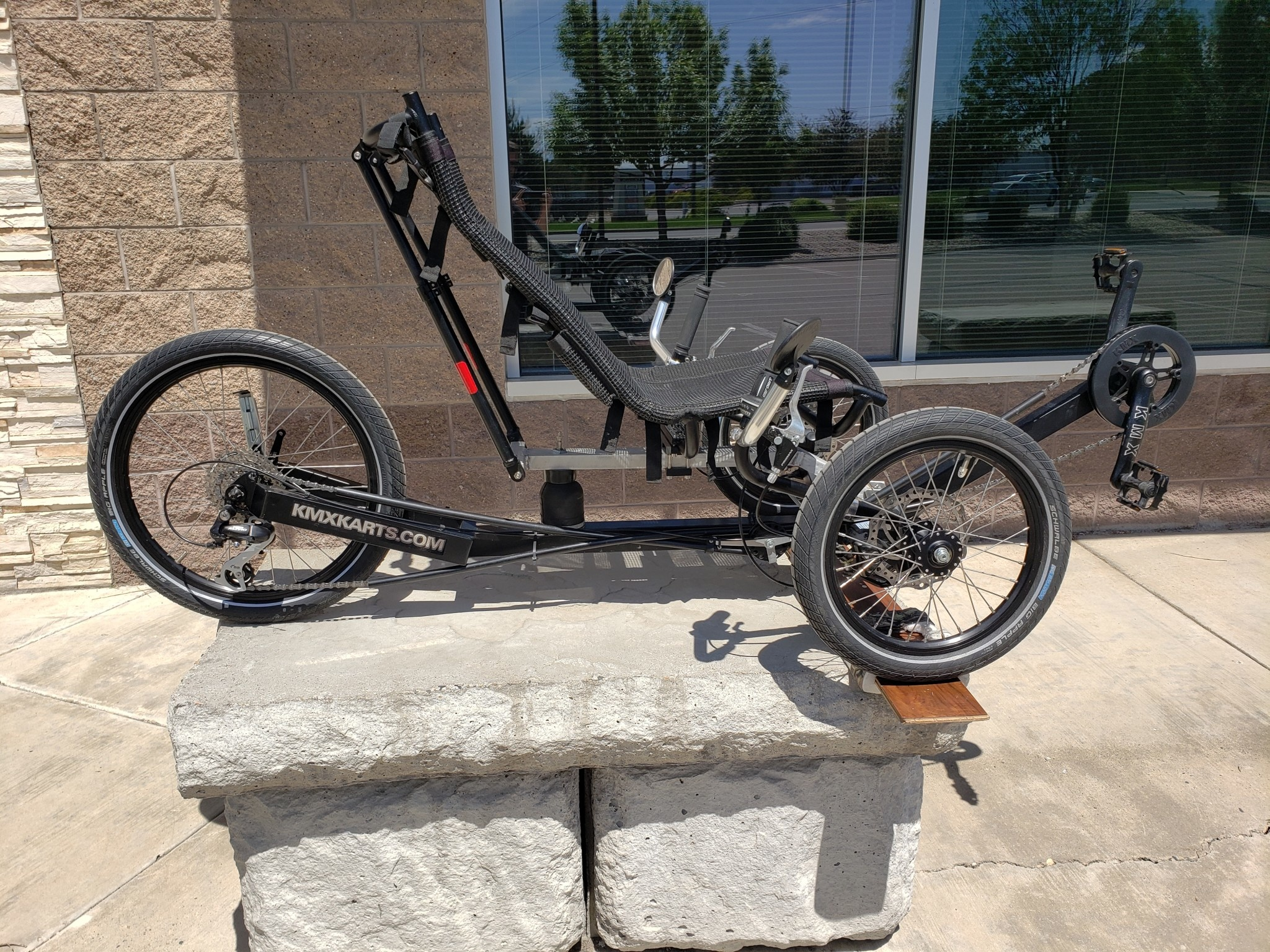 #14 Rental Trike KMX Typhoon Black - 1 day