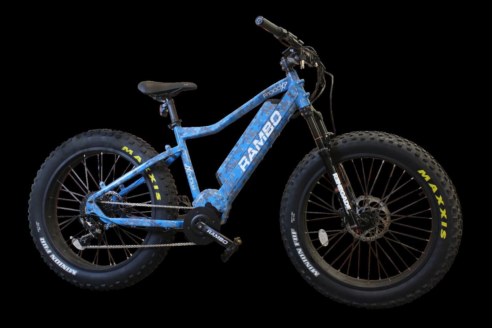 RAMBO 1000 XP BLUE