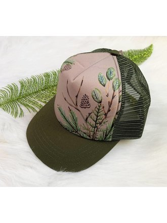 e6ce3fecd1e Hey Baby West Coast Fauna Trucker Hat - Kid