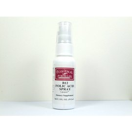 Ecological Formulas B12 Folic Acid Spray