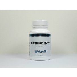 Douglas Labs Bromelain 500mg (formerly Bromelain-5000 MCU)
