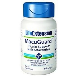 Life Extension MacuGuard with Astaxanthin