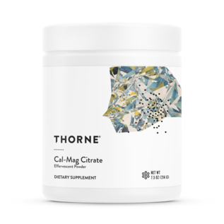 Thorne Research Cal/Mag Citrate Effervescent Powder