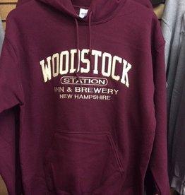 Maroon Hooded Sweatshirts