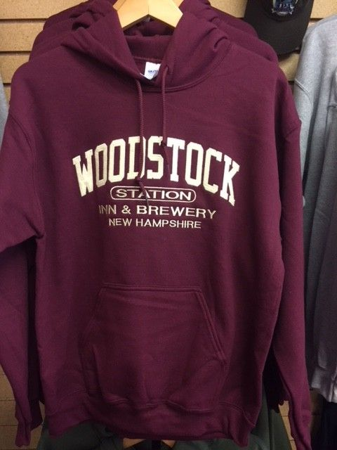 Maroon Hooded Sweatshirts