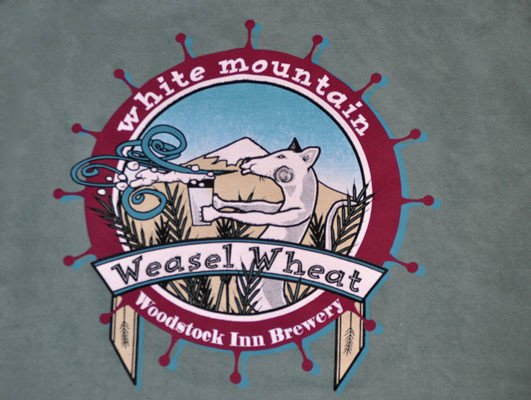 White Mountain Weasel Wheat TSHIRT