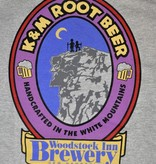 K&M Root Beer TSHIRT Gray