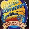Lemon blueberry tin sign