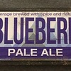 Lemon Blueberry Pale Ale Wood Sign 17 1/2 x 5 1/2