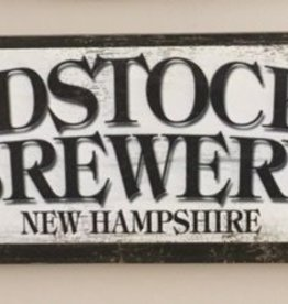 Woodstock Inn Brewery Wood Sign 17 1/2 x 5 1/2