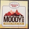 Moody Brew India Pale Ale 10 1/2 x 10 1/2 Wood Sign
