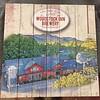 Woodstock Inn Brewery Aerial Wood Sign