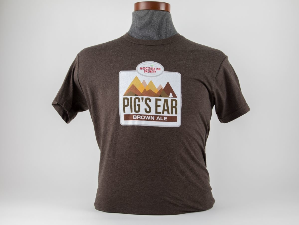 New Pigs Ear Logo Tee