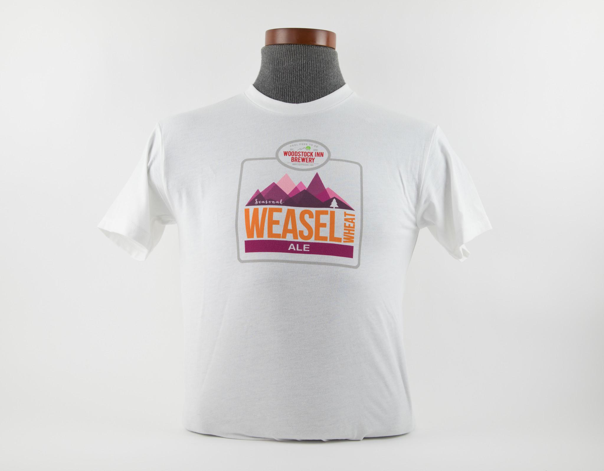 New Weasel Wheat T Shirt Medium