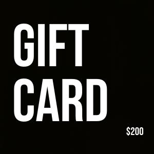 Gift Card $200