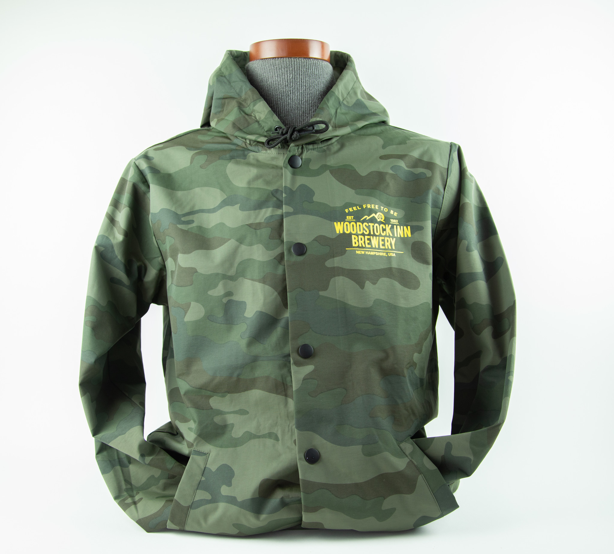 Camo Hooded Rain Jackets