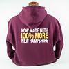 Maroon Full-Zip Sweatshirts