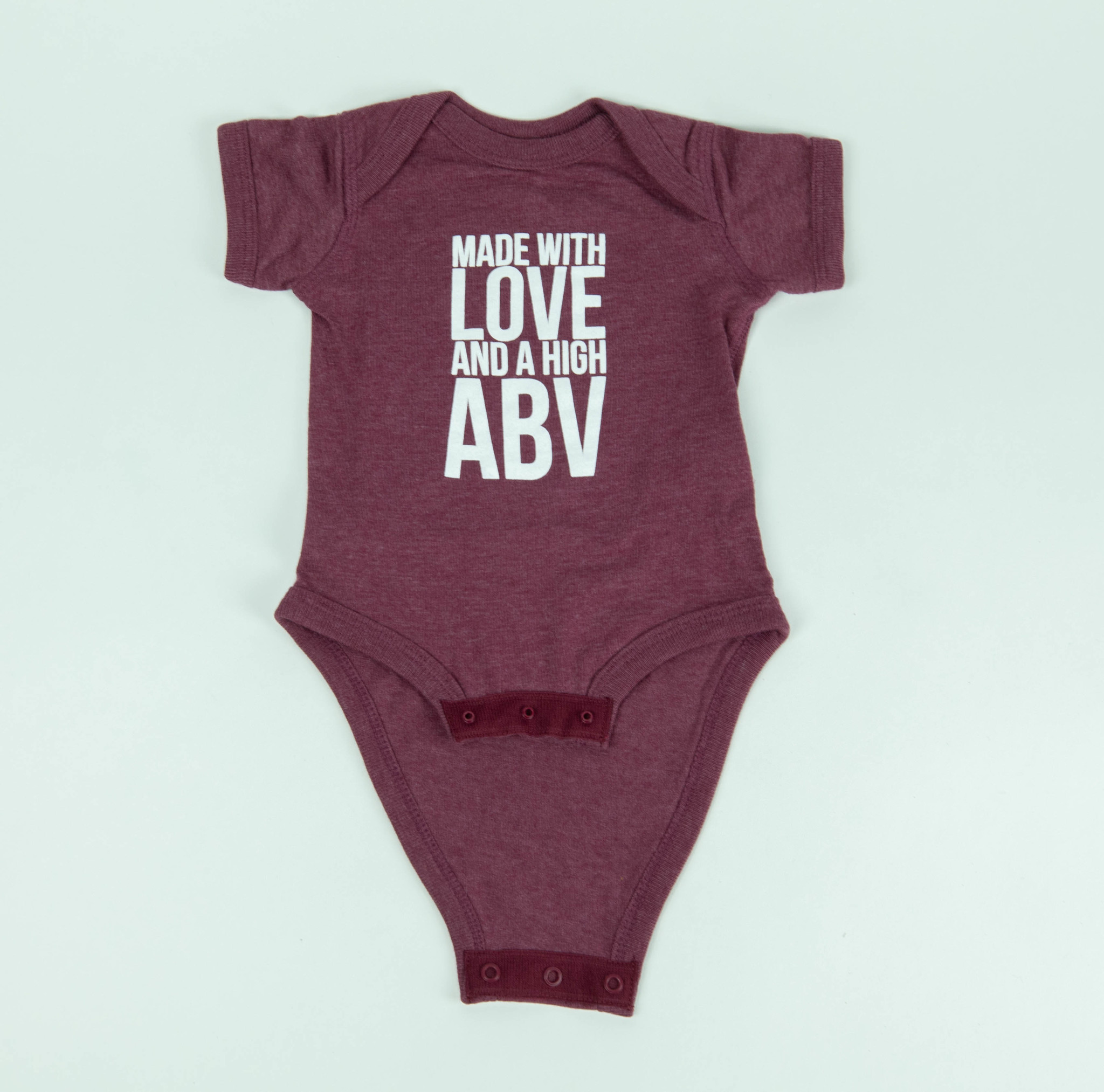 Baby Infant Made with Love Onesie
