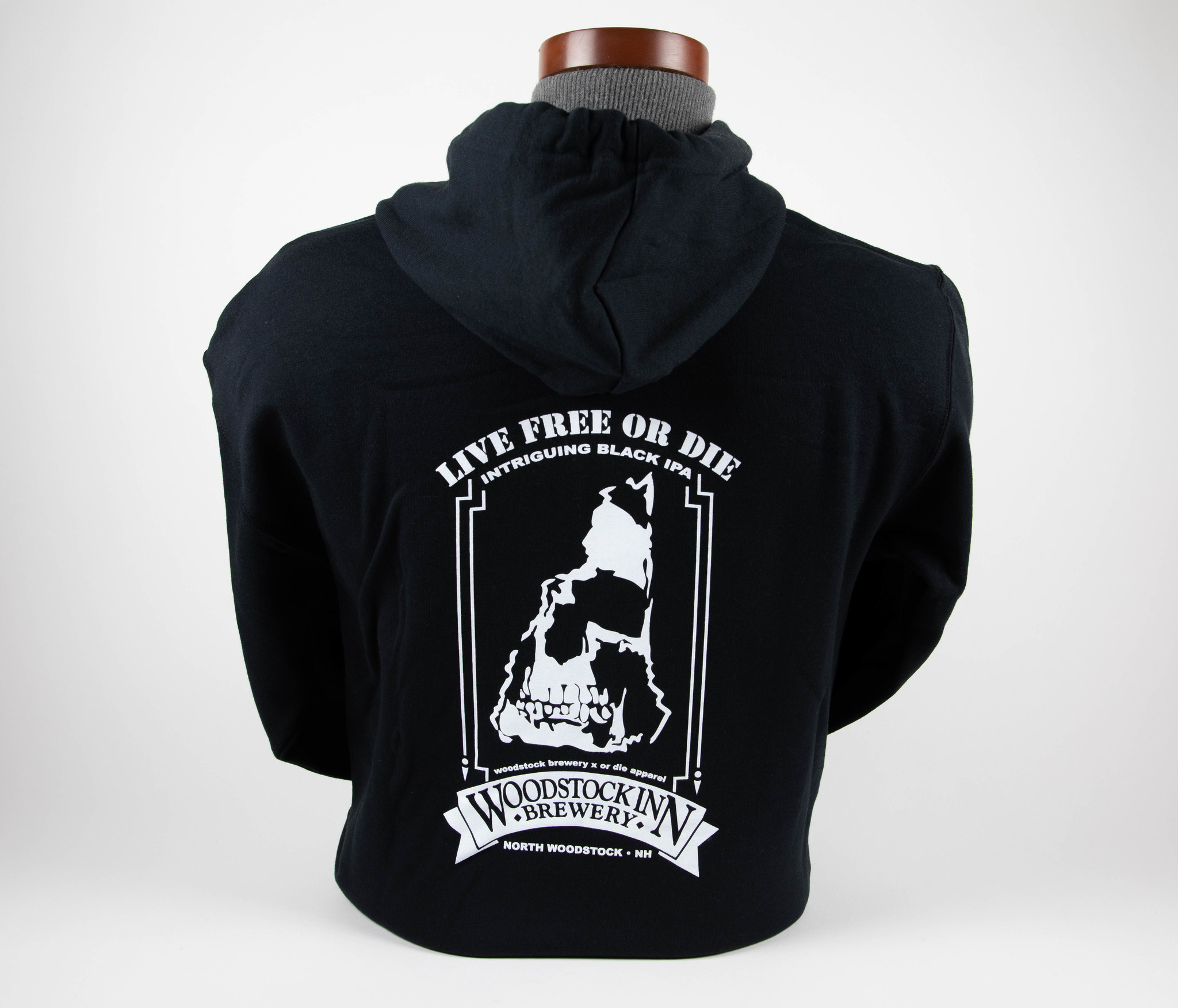 Live Free or Die zip sweatshirt