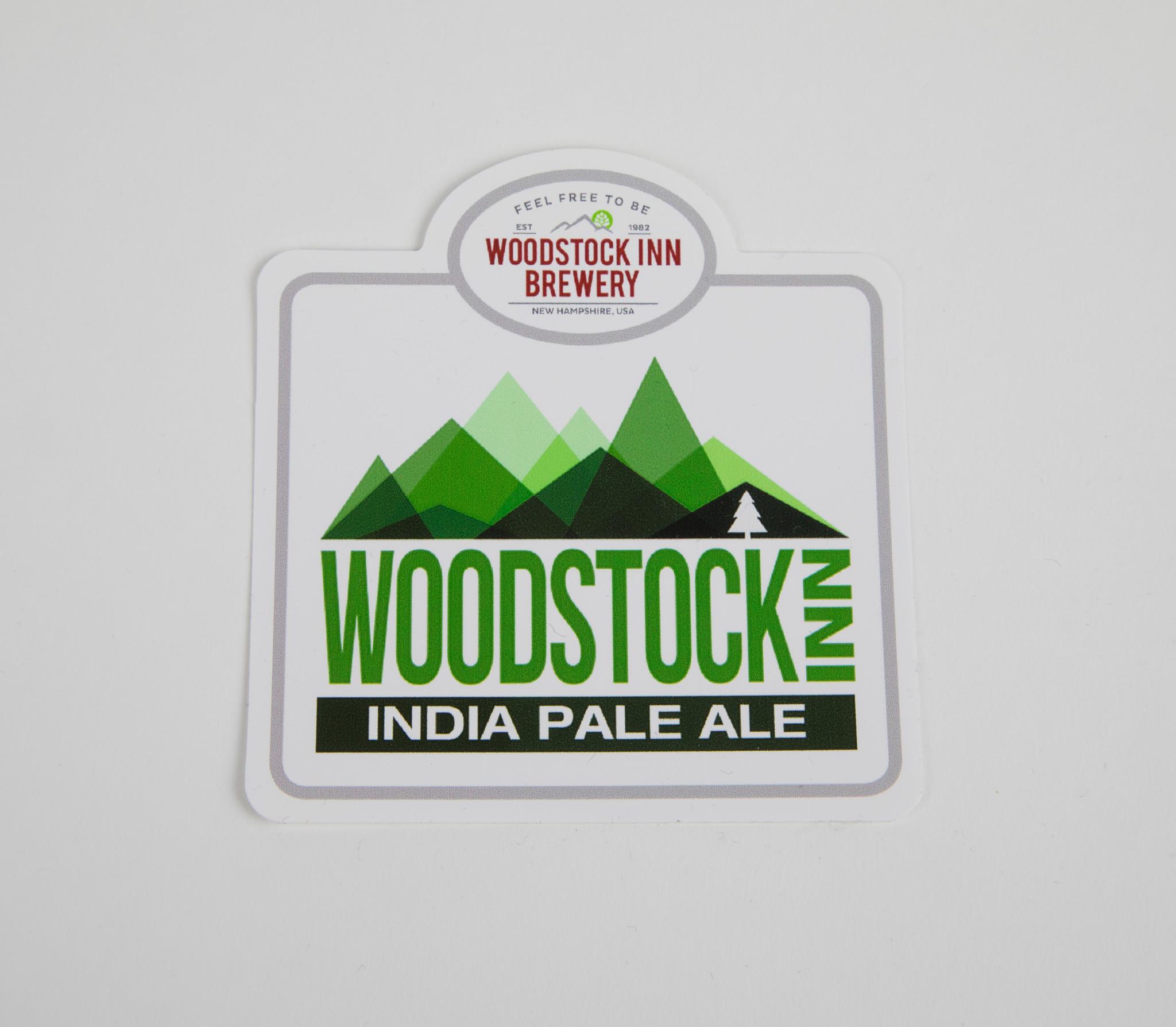 Woodstock Inn IPA Beer Sticker