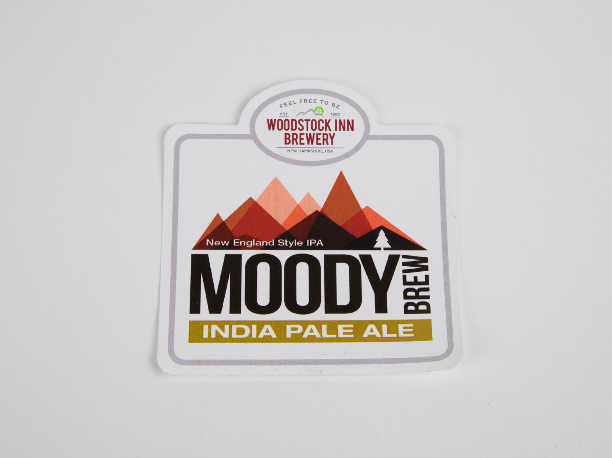 Moody Brew Beer Sticker