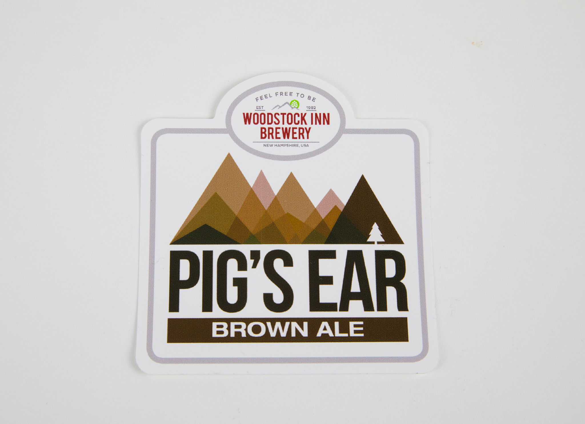 Pigs Ear Sticker