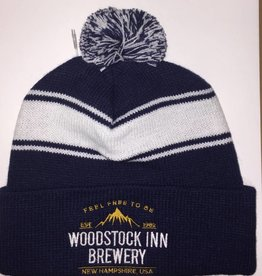Knit PomPom hat