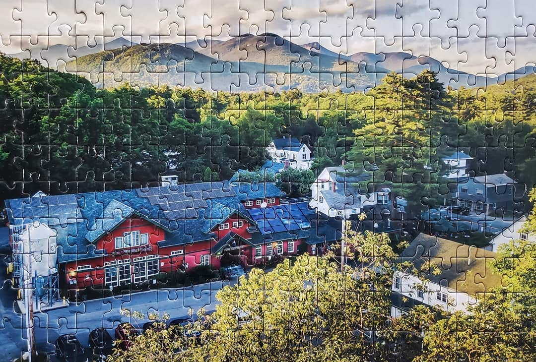 Woodstock Inn brewery Aerial Can Puzzle