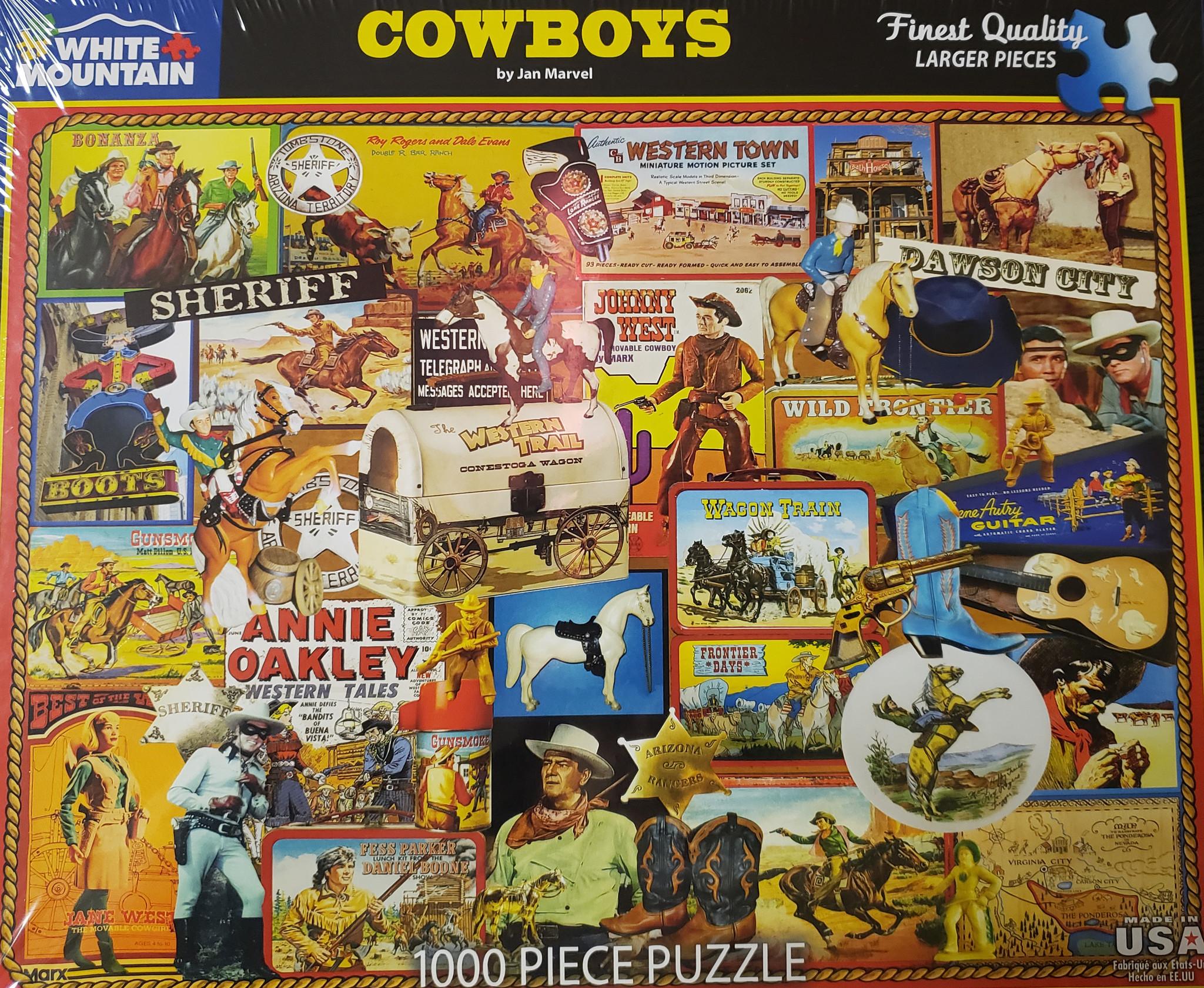 Cowboy Puzzle