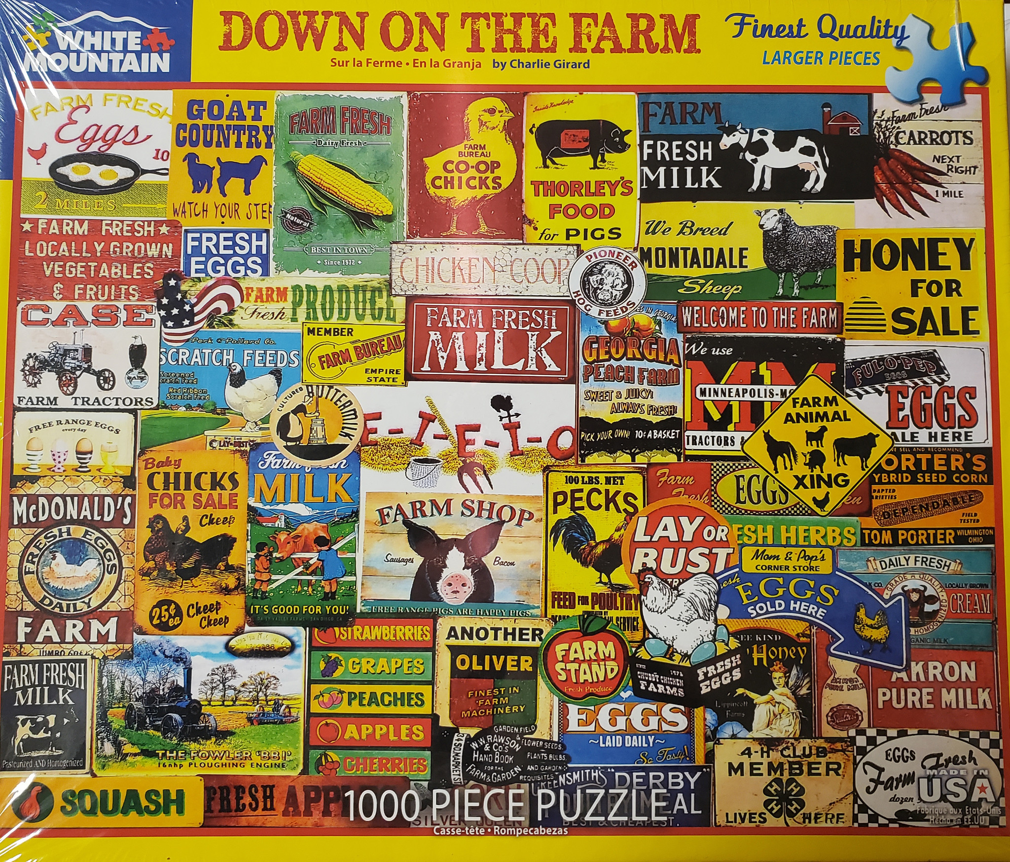 Down on The Farm Puzzle