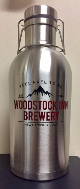 64 oz Steel Growler