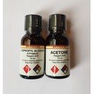 Acetone and Isopropyl Alcohol