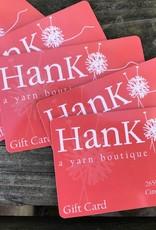 Hank Gift Card