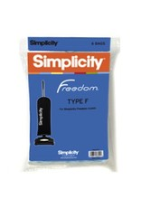 Simplicity Simplicity Freedom genuine 2-ply paper bags provide ultra filtration. See Details below for your model. Pack of 6 bags.